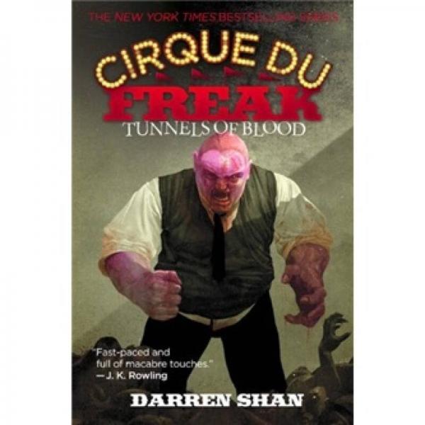 Cirque Du Freak #3: Tunnels of Blood[向达伦大冒险系列3:地下血道]