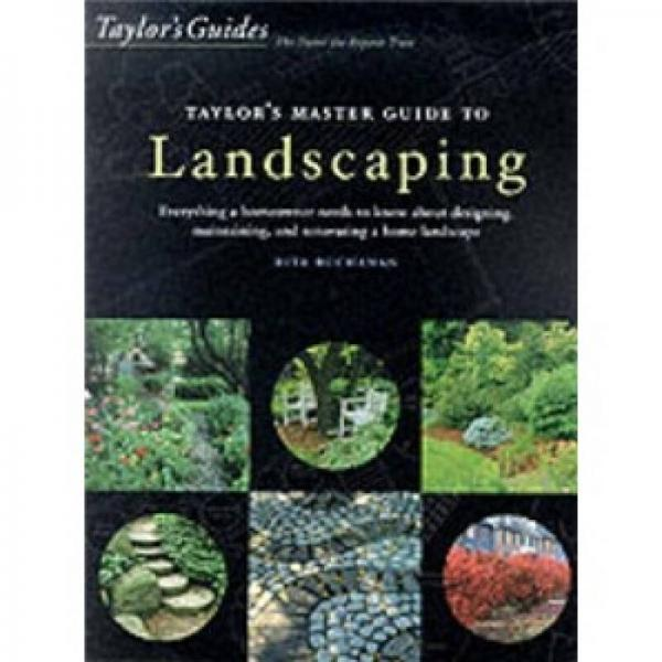 Taylors Master Guide to Landscaping