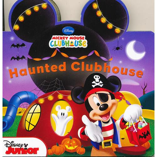 Mickey Mouse Clubhouse: Haunted Clubhouse 米奇妙妙屋:妙妙屋闹鬼(卡板书)