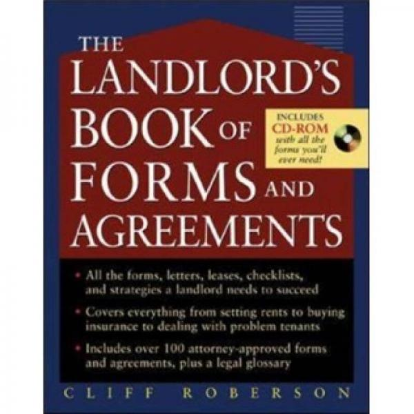 The Landlords Book of Forms and Agreements