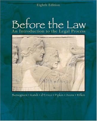 Before the Law:Before the Law