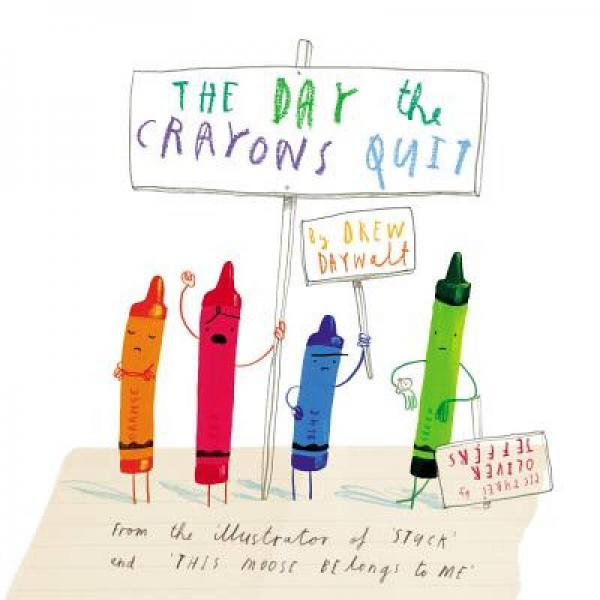 The Day the Crayons Quit 蜡笔罢工的一天