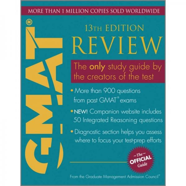 The Official Guide for GMAT Review, 13th EditionGMAT瀹��规����锛�绗�13�� �辨������