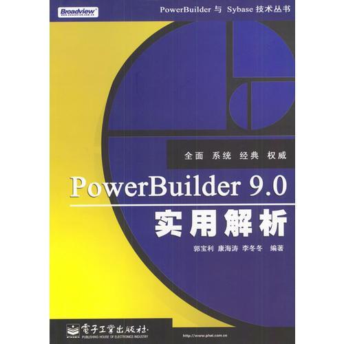 PowerBuilder 9.0实用解析