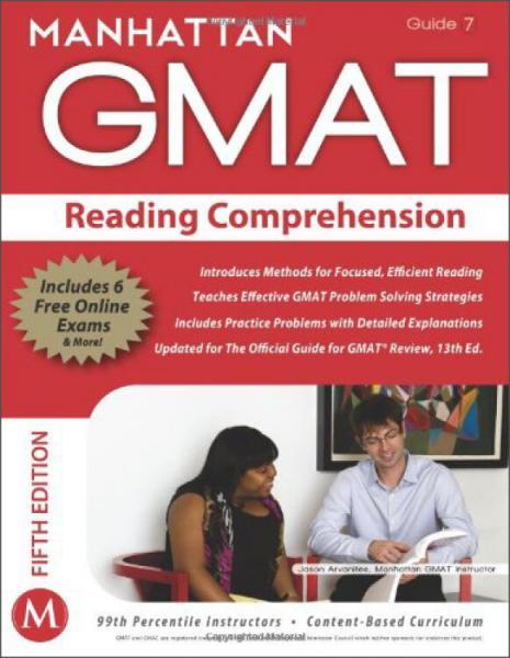ReadingComprehensionGMATStrategyGuide(ManhattanGMATInstructionalGuide,Vol.7)