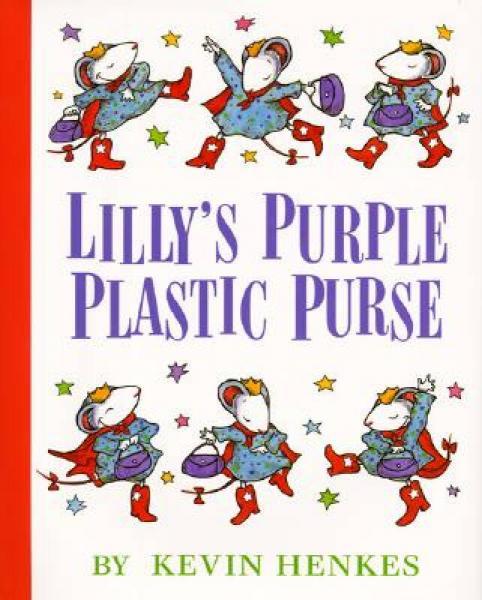 Lillys Purple Plastic Purse莉莉的紫色小皮包 英文原版