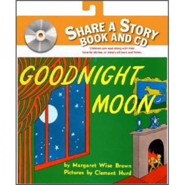 Goodnight Moon Book and CD 晚安月亮,书附CD版