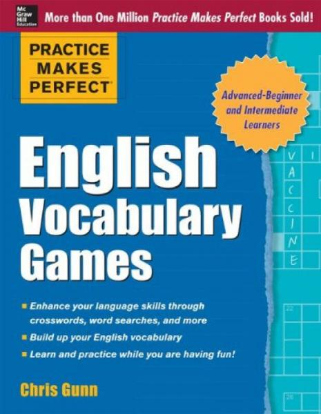 Practice Makes Perfect:English Vocabulary Games[熟能生巧:英语词汇游戏]
