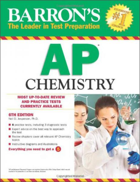 Barrons AP Chemistry, 6th Edition