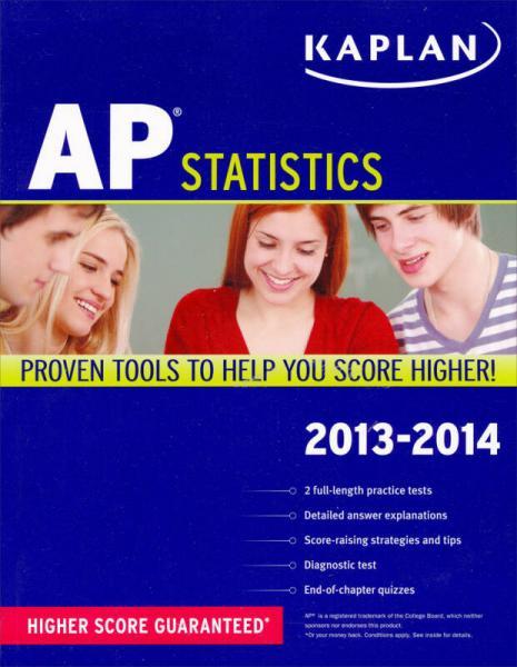 Kaplan AP Statistics 2013-2014