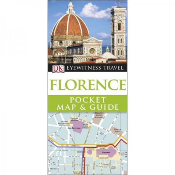 Florence (DK Eyewitness Pocket Map & Guide)