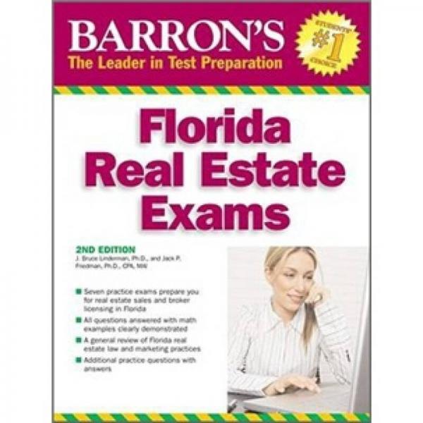 Barrons Florida Real Estate Exams