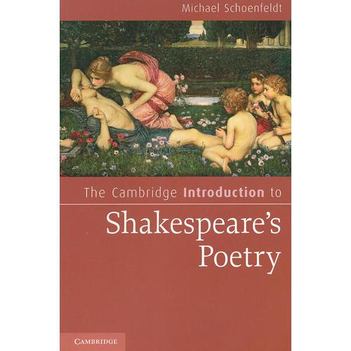 The Cambridge Introduction to Shakespeares Poetry