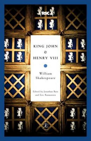 KingJohn&HenryVIII约翰王亨利八世英文原版