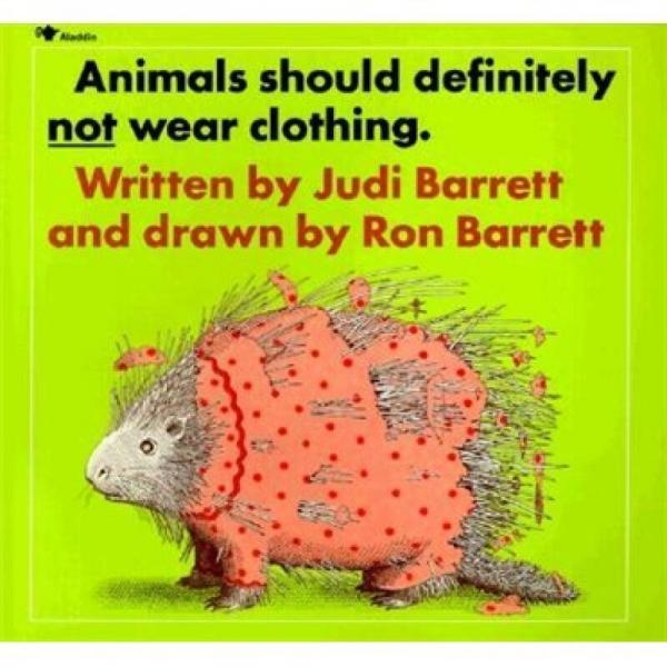 Animals Should Definitely Not Wear Clothing  动物绝对不该穿衣服