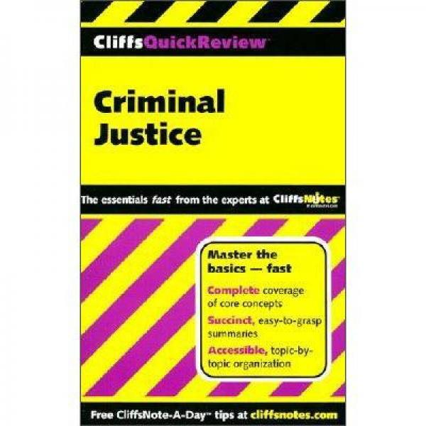 Criminal Justice (Cliffs Quick Review)