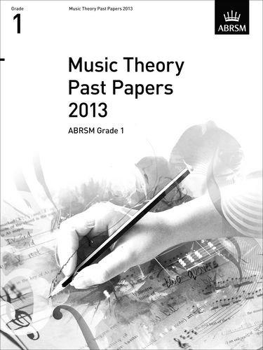 Music Theory Past Papers 2013, ABRSM Grade 1