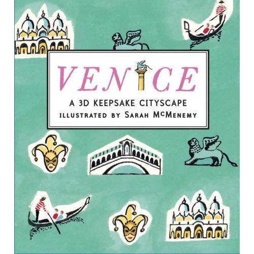 Venice: A 3D Keepsake Cityscape威尼斯(立体书)