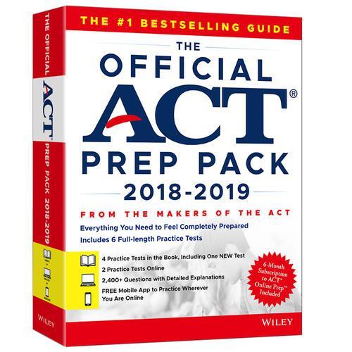 新东方  (19)ACT官方指南(附线上学习包)