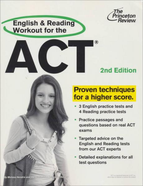 English and Reading Workout for the ACT, 2nd Edition (College Test Preparation)
