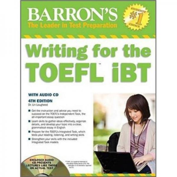 Writing for the TOEFL Ibt with Audio CD, 4th Edition (Barrons Writing for the Toefl)