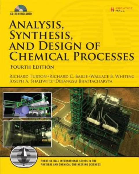 Analysis,SynthesisandDesignofChemicalProcesses