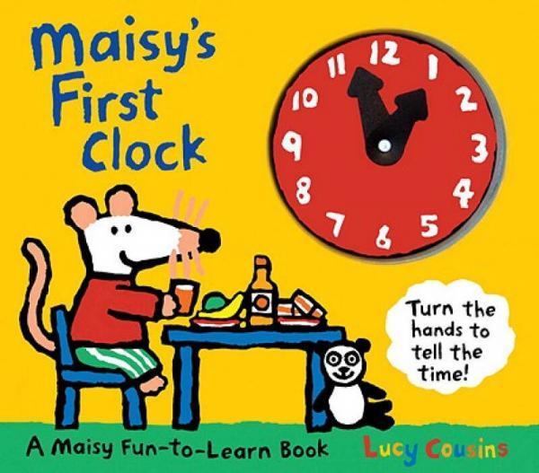 Maisys First Clock [Board book]