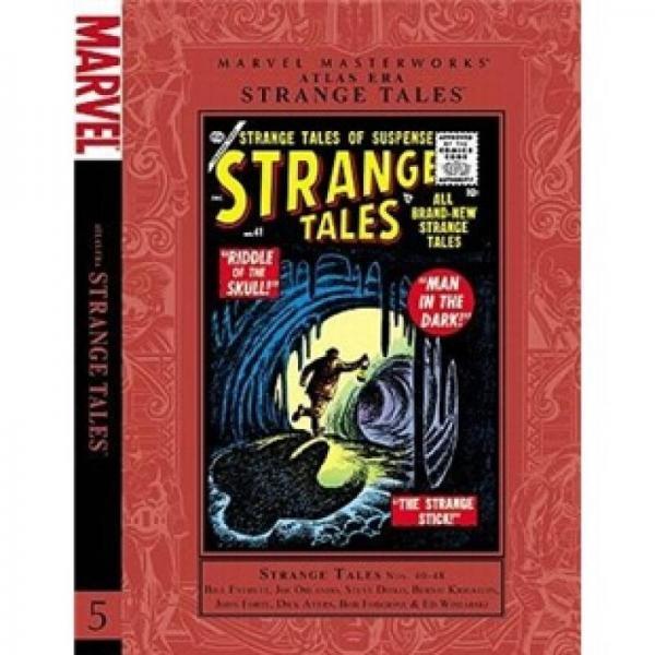 Atlas Era Strange Tales Marvel Masterworks, Volume 5