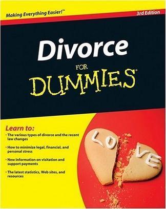 Divorce For Dummies (For Dummies (Psychology & Self Help))