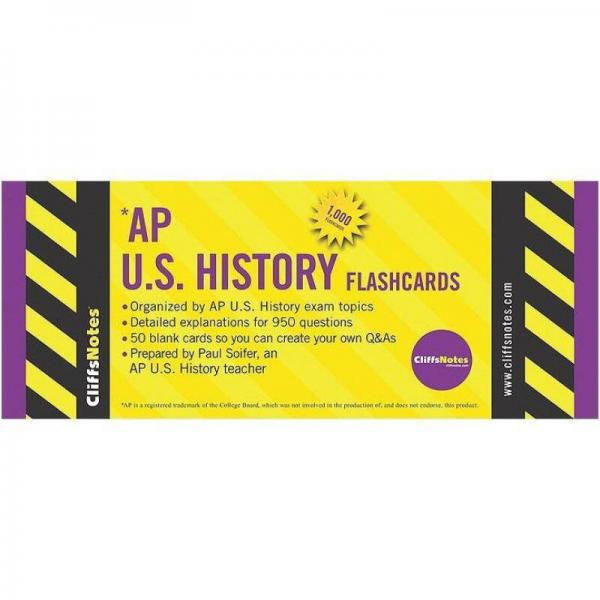 CliffsNotes AP U.S. History Flashcards
