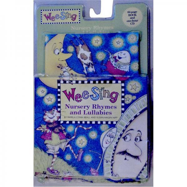 Wee Sing Nursery Rhymes and Lullabies(Book+CD)我们唱儿歌、摇篮曲