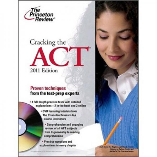 Cracking the ACT 2011 (DVD)Princeton Review: Cracking the ACT (w/DVD)