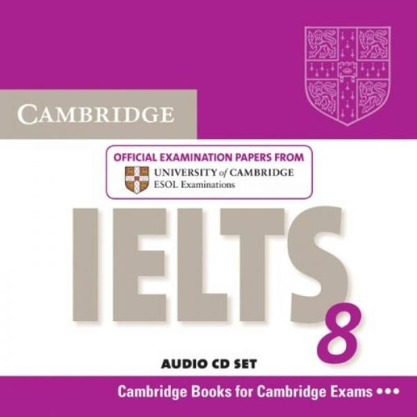 Cambridge IELTS 8 Audio CDs (2)  剑桥雅思8 CD