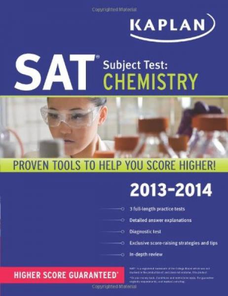 Kaplan SAT Subject Test Chemistry 2013-2014 (Kaplan SAT Subject Test Series)