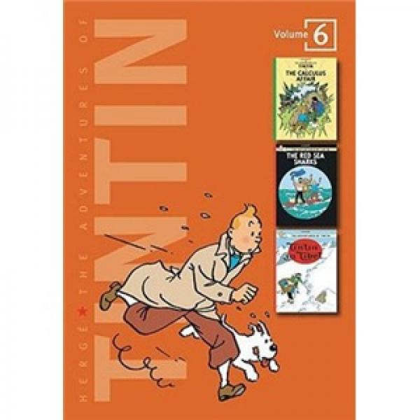 The Adventures of Tintin Volume 6  丁丁历险记之卡尔库鲁斯案件