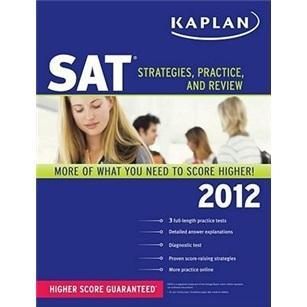 KaplanSAT2012:Strategies,Practice,andReview