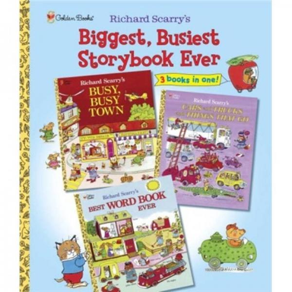 Biggest Busiest Storybook Ever斯凯瑞:最棒的故事书 英文原版