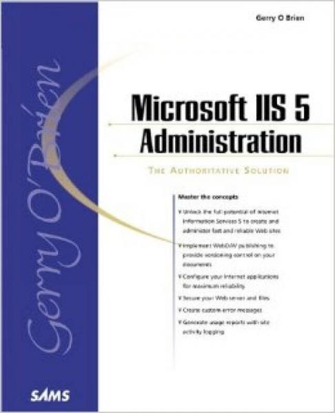 Microsoft IIS 5 Administration