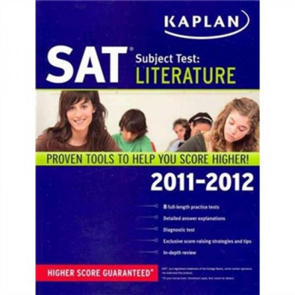 Kaplan SAT Subject Test: Literature 2011-2012