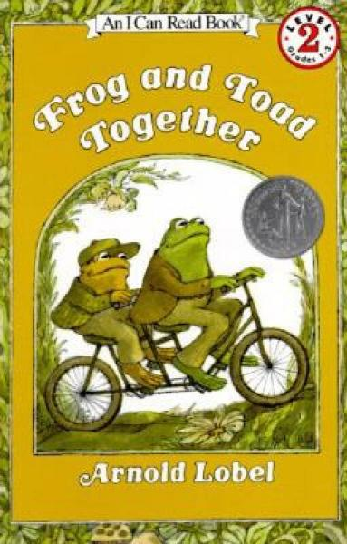 Frog and Toad Together (I Can Read, Level 2)青蛙和蟾蜍在一起 英文原版