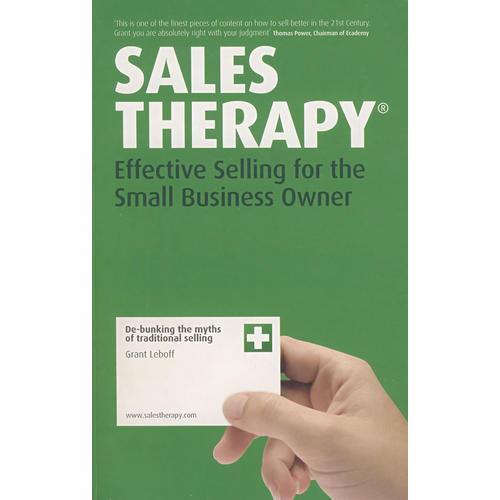 小企业的销售策略Sales Therapy : Effective Selling for the Small Business Owner