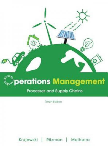 Operations Management: Processes and Supply Chains Plus New Myomlab with Pearson Etext