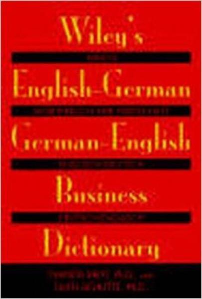 Wileys English-German, German-English Business Dictionary