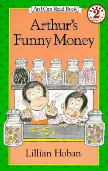 Arthurs Funny Money (I Can Read, Level 2) 亚瑟的有趣的钱币
