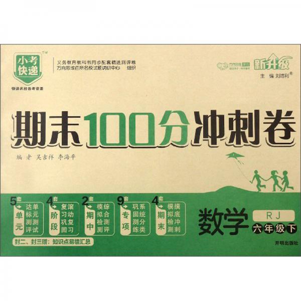期末100分冲刺卷:数学(六年级下RJ新升级)