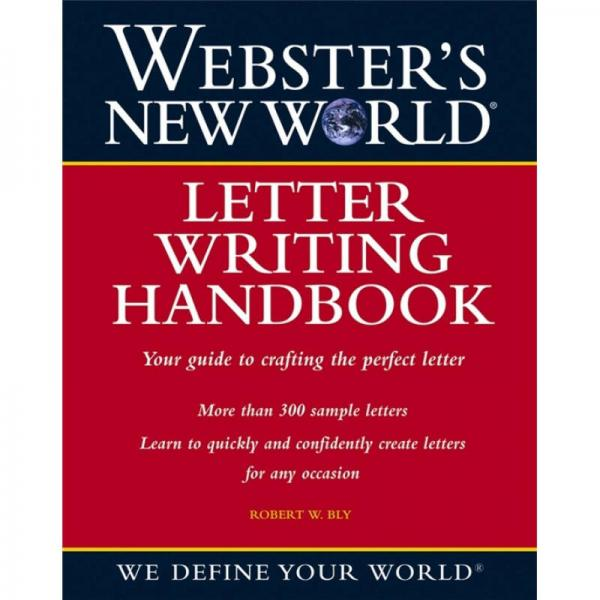 Websters New World Letter Writing Handbook