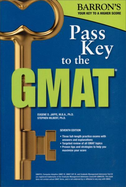 Pass Key to the GMAT (Barrons Pass Key the Gmat) (Barrons Pass Key to the GMAT)