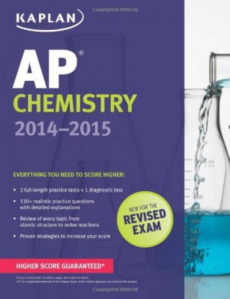 Kaplan AP Chemistry 2014-2015 (Kaplan AP Series)