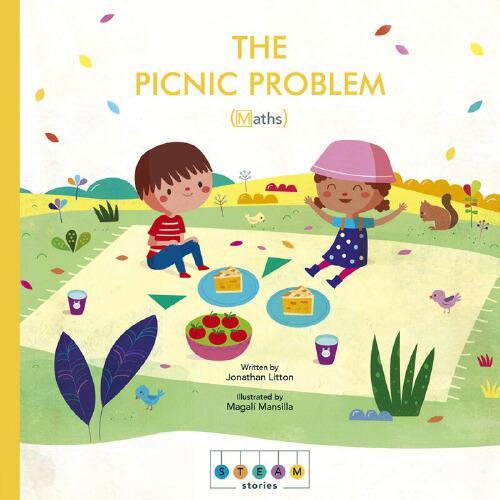英文原版STEAM Stories: The Picnic Problem (Maths)蒸汽故事:野餐题