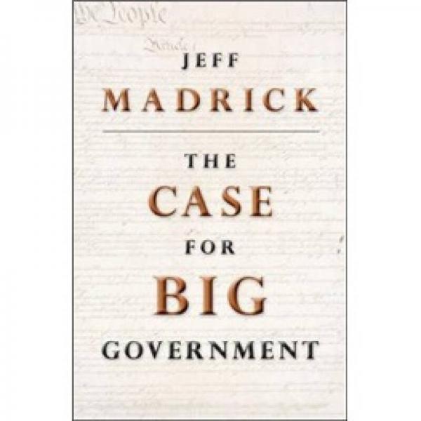 The Case for Big Government[大政府为什么合理 新版]